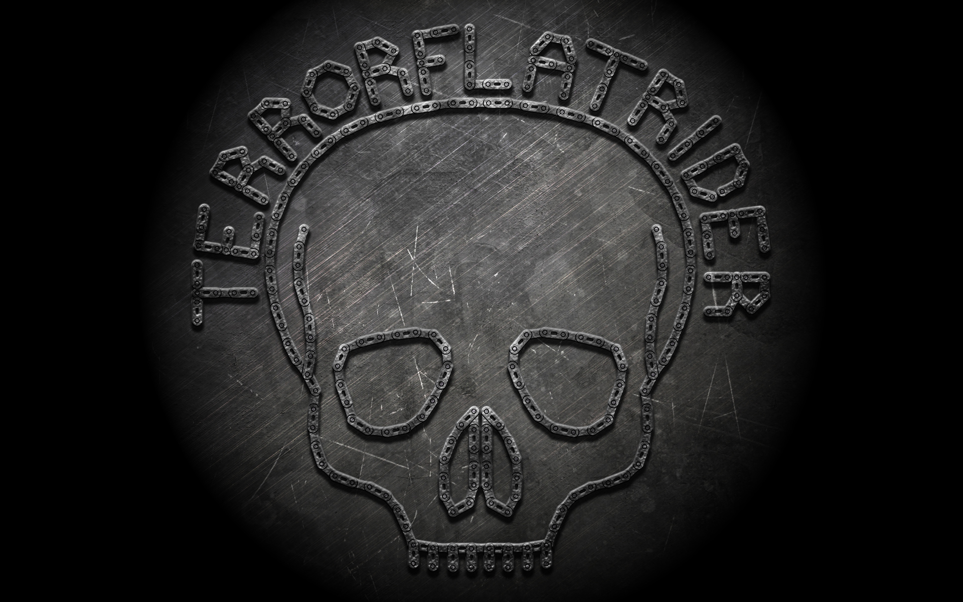 TerrorFlatRider Skull Chain